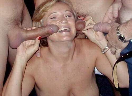 Homemade sex tube wife gang bang